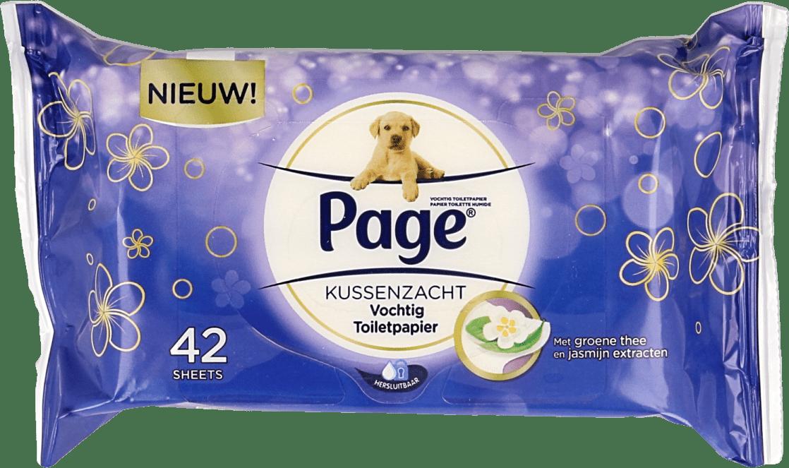 Page Vochtig Toiletpapier.Page Vochtig Toiletpapier Kussenzacht Navulling