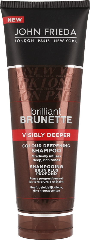 John Frieda Brilliant Brunette Shampoo Visibly Deeper