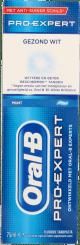 Oral-B Pro Expert Gezond Wit Tandpasta