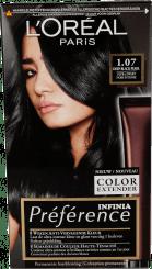 L'Oréal Préférence Infinia 1.07 Deep Black Pearl Ultrazwart