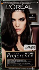 L'Oréal Préférence Infinia 3 Brasilia Donkerbruin