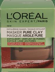 L'Oréal Paris Masker Pure Clay Exfoliërend Gezichtsmasker