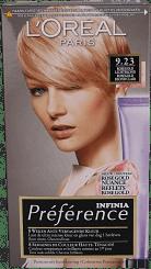L'Oréal Paris Préférence Infinia Rose Gold Licht Blond