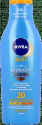 Nivea Sun Protect & Bronze Zonnemelk SPF 20