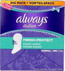Always Inlegkruisjes Dailies Fresh & Protect