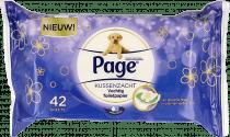Page Vochtig Toiletpapier Kussenzacht Navulling
