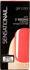 Sensationail Gel Coral Sunset