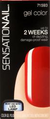 Sensationail Color Gel Scarlet Red