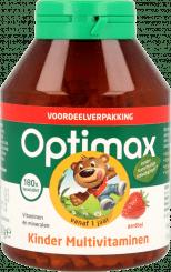 Optimax Kinder Multivitamine Aardbei