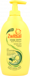 Zwitsal Baby Slaap Zacht Bad & Wasgel Eucalyptus