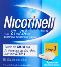 Nicotinell Pleisters 21 mg