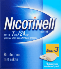 Nicotinell Pleisters 7 mg