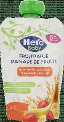 Hero Baby Fruitpapje Granen Banaan Aardbei