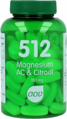AOV 512 Magnesium AC & Citraat (150 mg) tabletten