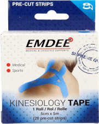 Emdee Kinesiology Tape Lichtblauw