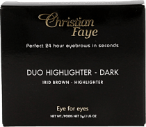 Christian Faye Eyebrow Make Up Duo Highlighter Dark