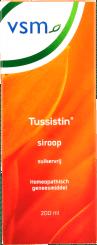 VSM Tussitin Siroop Suikervrij